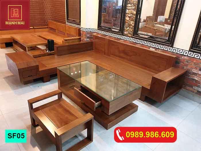 Top 5 Mẫu Sofa Gỗ Phong Khach Hiện đại Ban Chạy 2019 Nội Thất Mạnh Mai