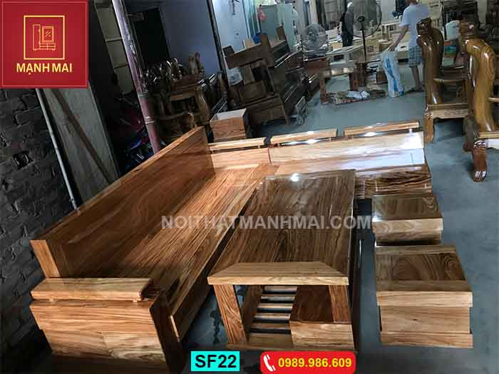 bàn ghế gỗ cho phòng khách hiện đại giá rẻ