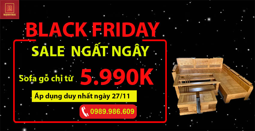 Black Friday Sale ngất ngây